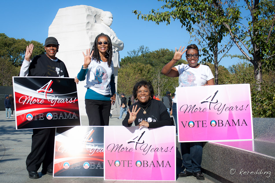 Photo Share: Black Women for Obama