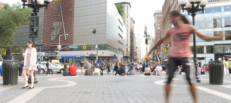 Thirty Five minutes in Union Square on June 26, 2015